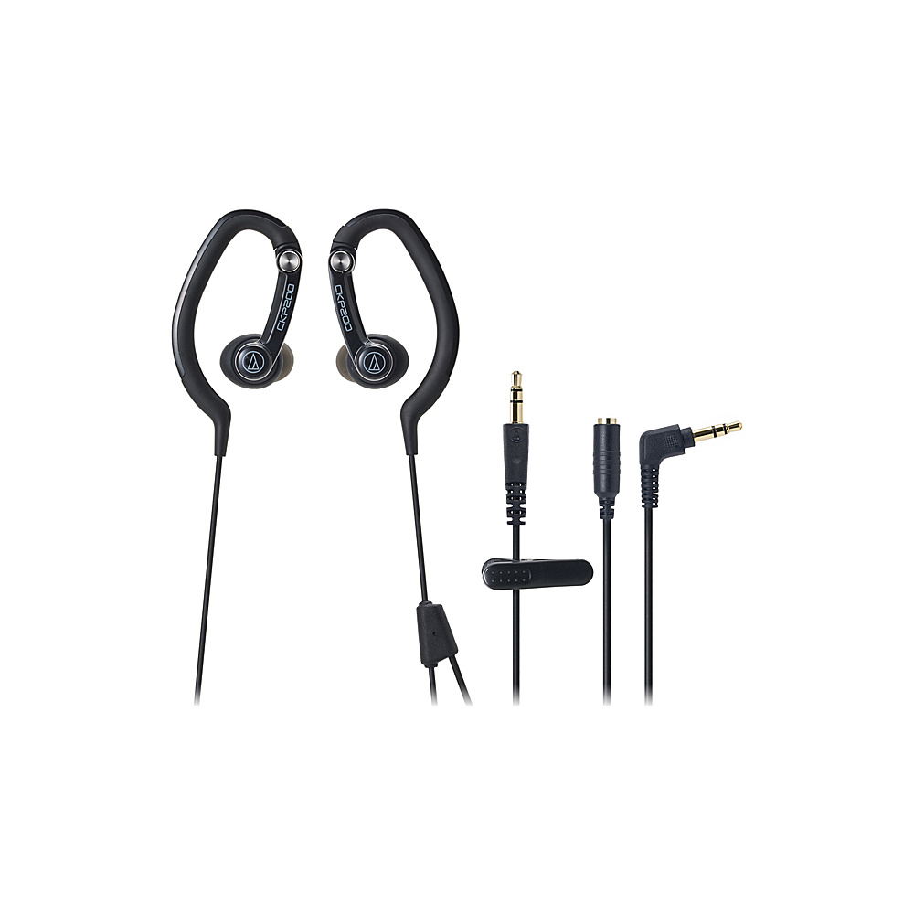 Audio Technica SonicSport In-Ear Hook Style Waterproof Headphones Black - Audio Technica Headphones & Speakers