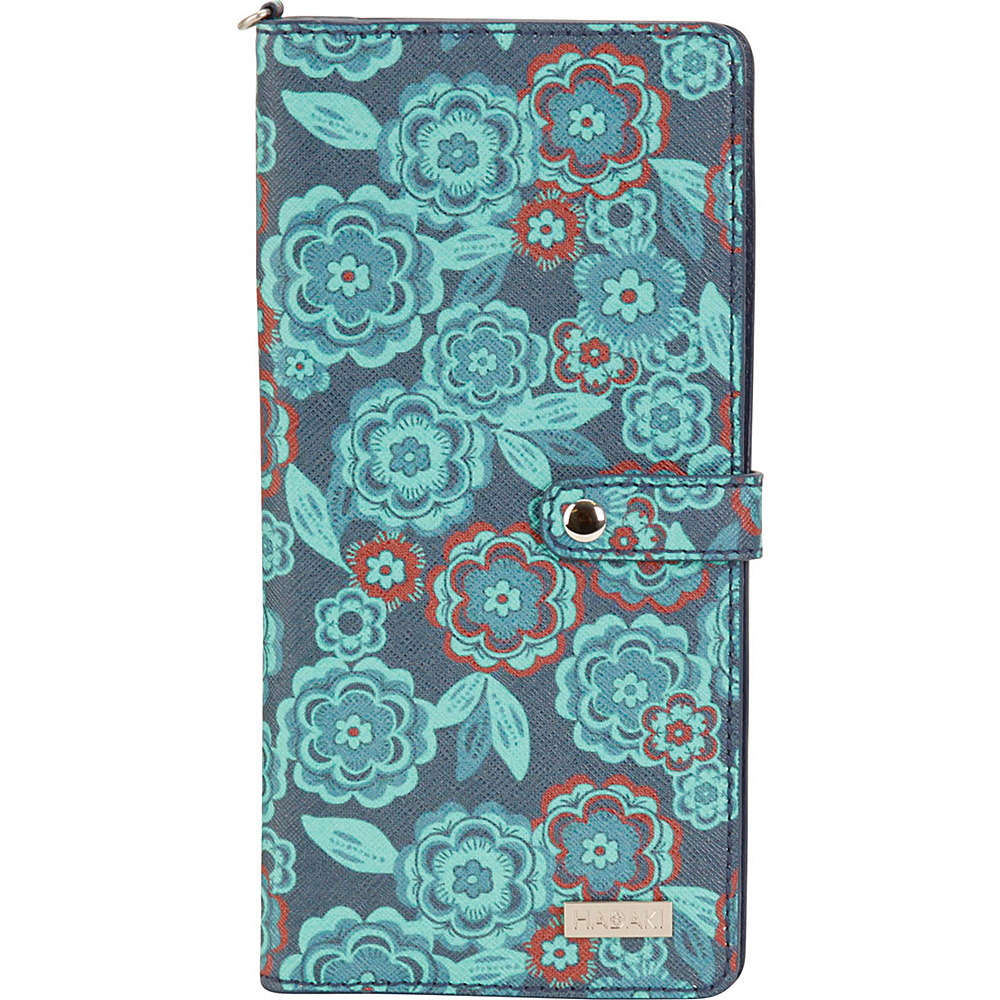 Hadaki Vegan Leather Travel Wallet Floral - Hadaki Travel Wallets - Travel Accessories, Travel Wallets
