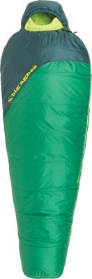 Big Agnes Buell 30 Synthetic Sleeping Bag Amazon/Pine - Long Left - Big Agnes Outdoor Accessories