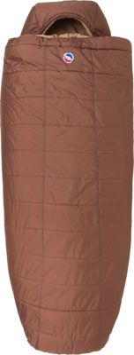 Big Agnes Big Agnes Whiskey Park 0 Thermolite Extra Sleeping Bag Cappuccino - Long - Big Agnes Outdoor Accessories