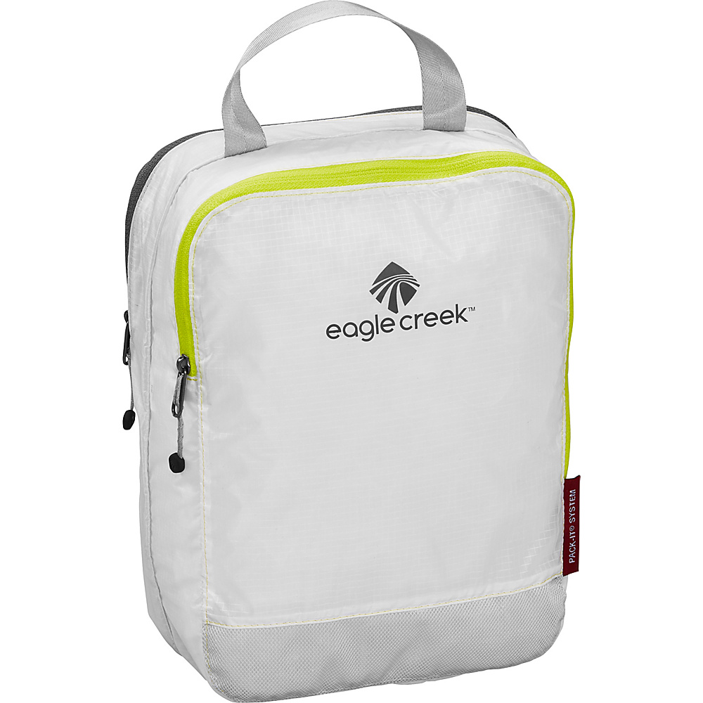 Eagle Creek Pack-It Specter Clean Dirty Half Cube White/Strobe - Eagle Creek Travel Organizers - Travel Accessories, Travel Organizers