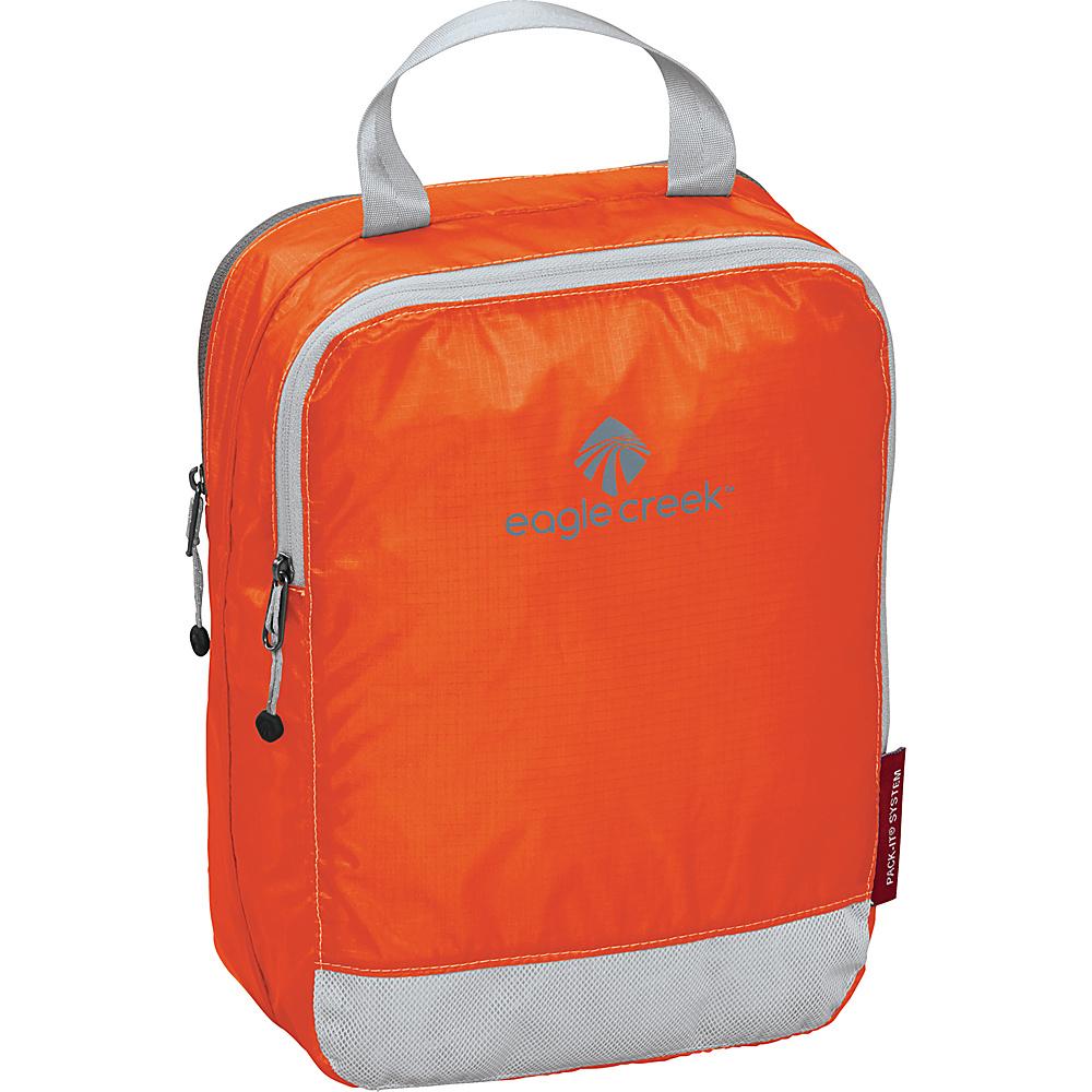 Eagle Creek Pack-It Specter Clean Dirty Half Cube Flame Orange - Eagle Creek Travel Organizers - Travel Accessories, Travel Organizers