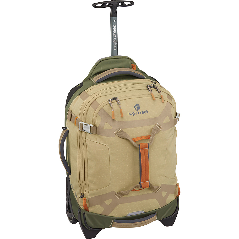 Eagle Creek Load Warrior 20 Duffel Bag Tan/Olive - Eagle Creek Rolling Duffels - Luggage, Rolling Duffels