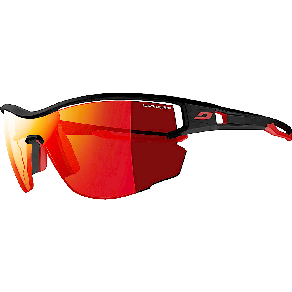 Julbo Aero With Spectron 3cf Lens Black Red Julbo Sunglasses