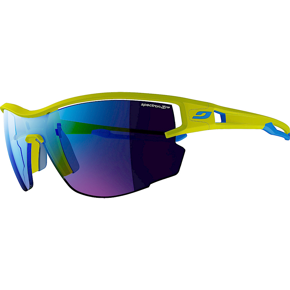 Julbo Aero With Spectron 3cf Lens Green Blue Julbo Sunglasses