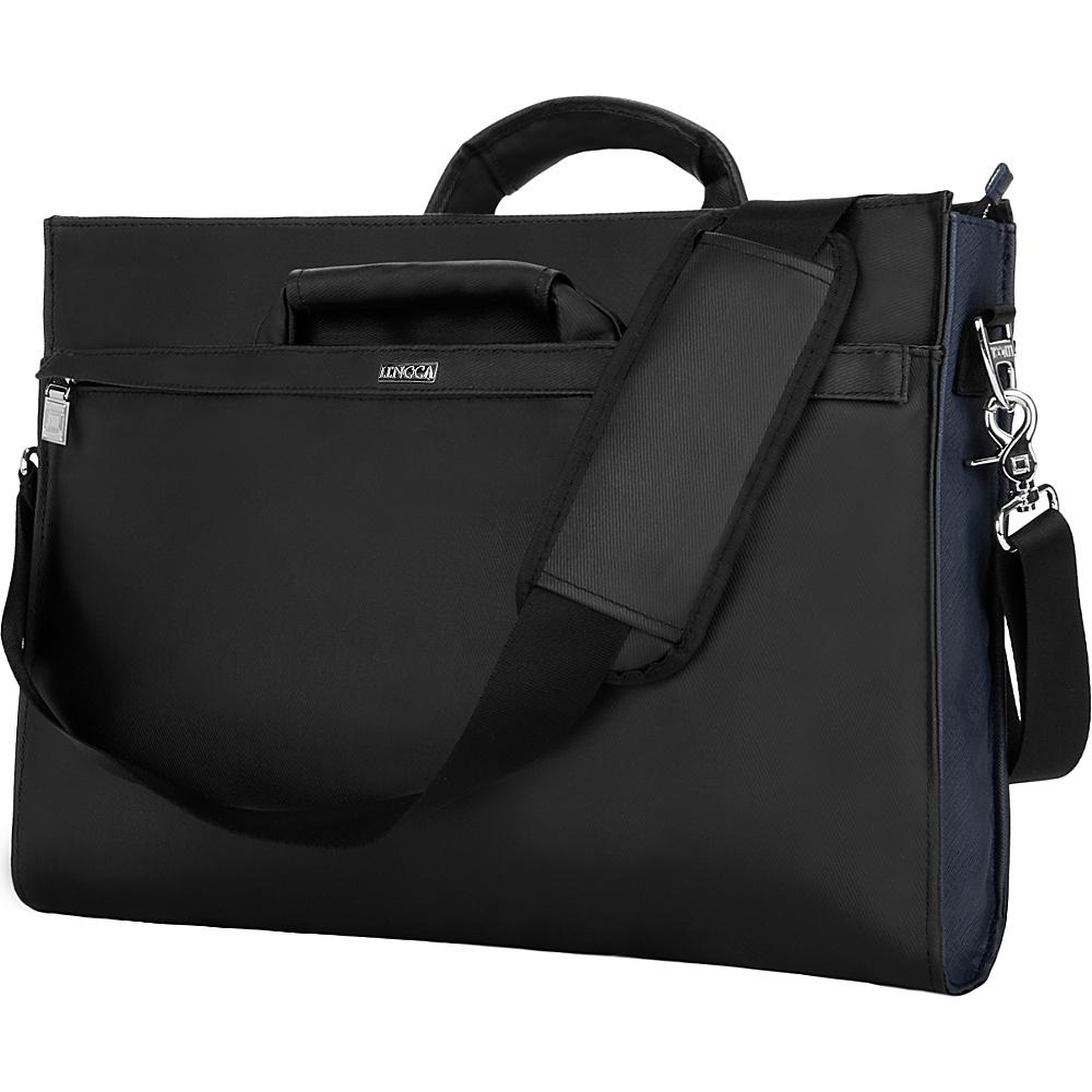 "Lencca Brink Messenger Briefcase Bag for 14-15"" Devices Black - Lencca Non-Wheeled Business Cases"
