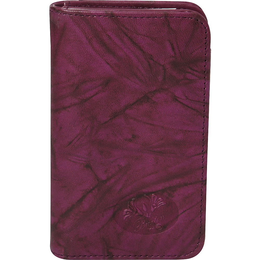 Buxton Heiress  Pik-Me-Up Snap Card Case Magenta Purple - Buxton Womens Wallets - Women's SLG, Women's Wallets