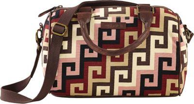 Image of Bella Taylor Ambrose Satchel Pink - Bella Taylor Fabric Handbags