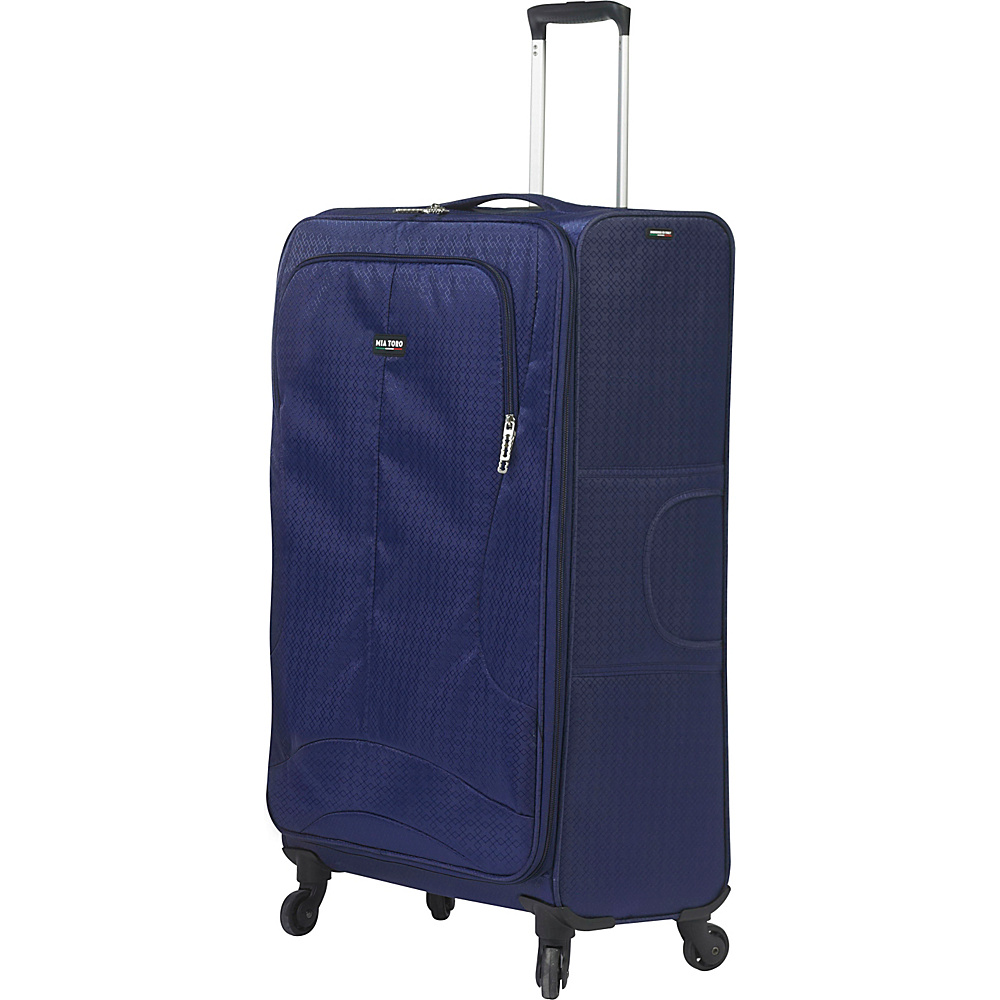 Mia Toro ITALY Apennine 24 Luggage Navy Mia Toro ITALY Softside Checked