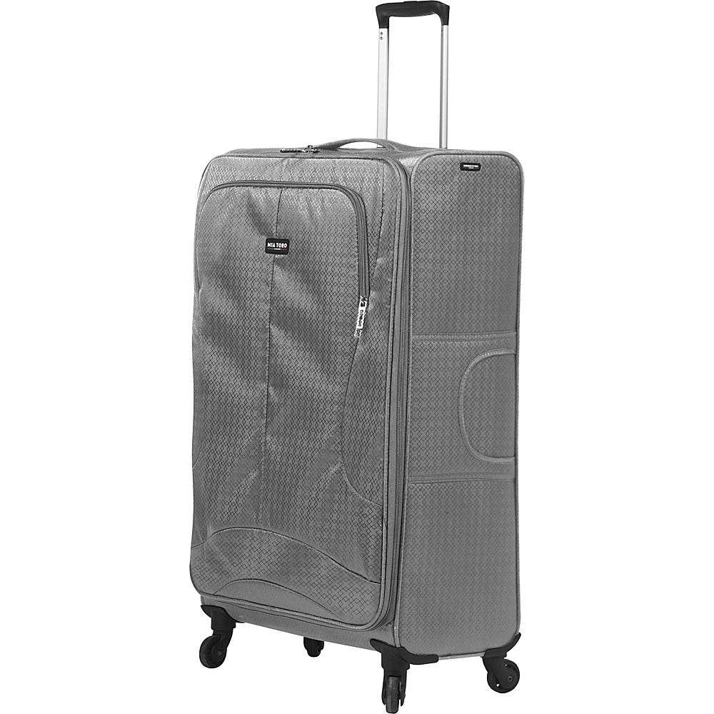 Mia Toro ITALY Apennine 24 Luggage Grey Mia Toro ITALY Softside Checked
