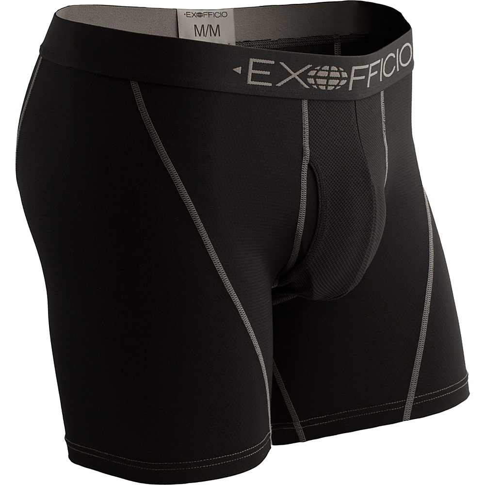 ExOfficio Give-N-Go Sport Mesh 6 Boxer Brief 2XL - Stop - ExOfficio Mens Apparel - Apparel & Footwear, Men's Apparel