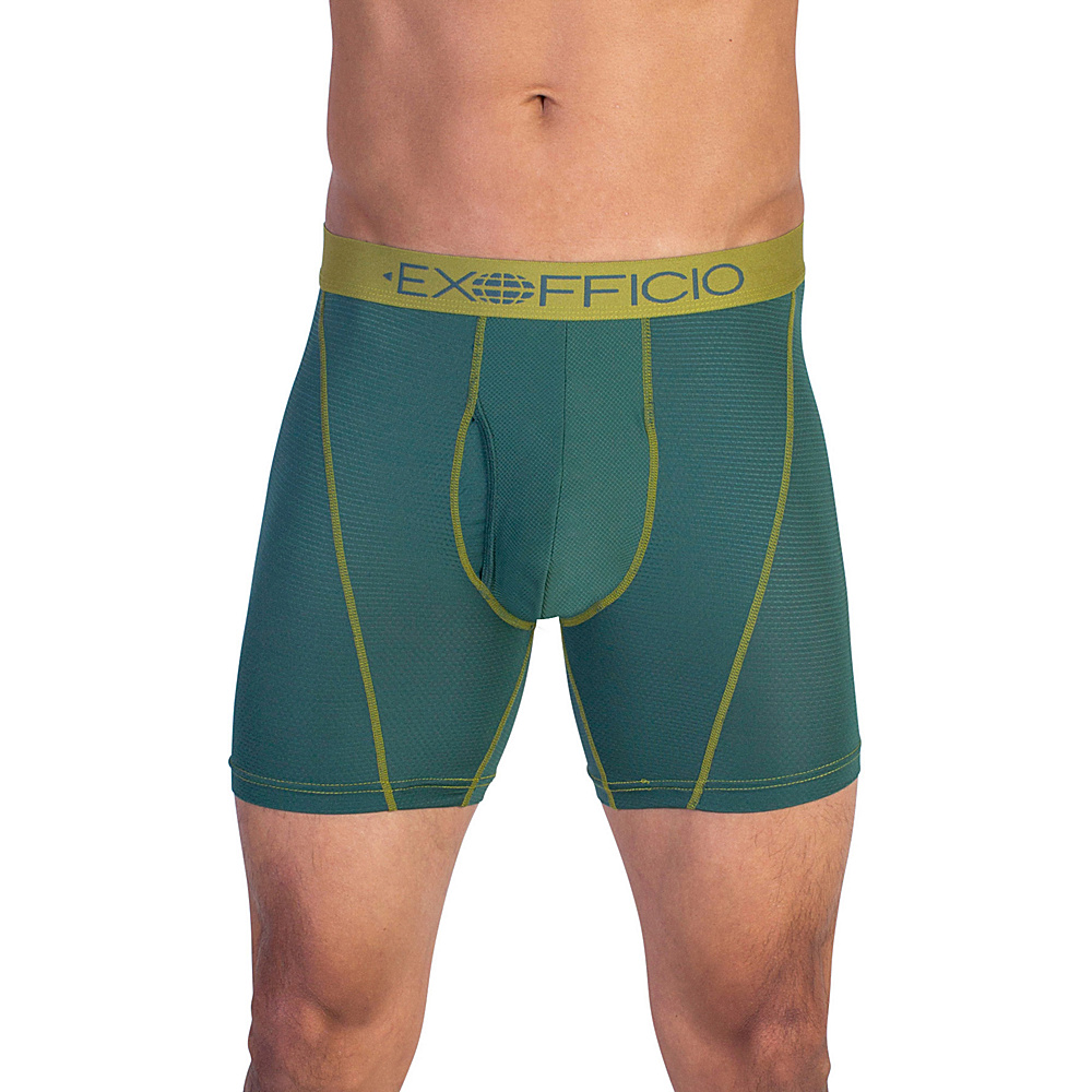 ExOfficio Give-N-Go Sport Mesh 6 Boxer Brief S - Petrol - ExOfficio Mens Apparel - Apparel & Footwear, Men's Apparel
