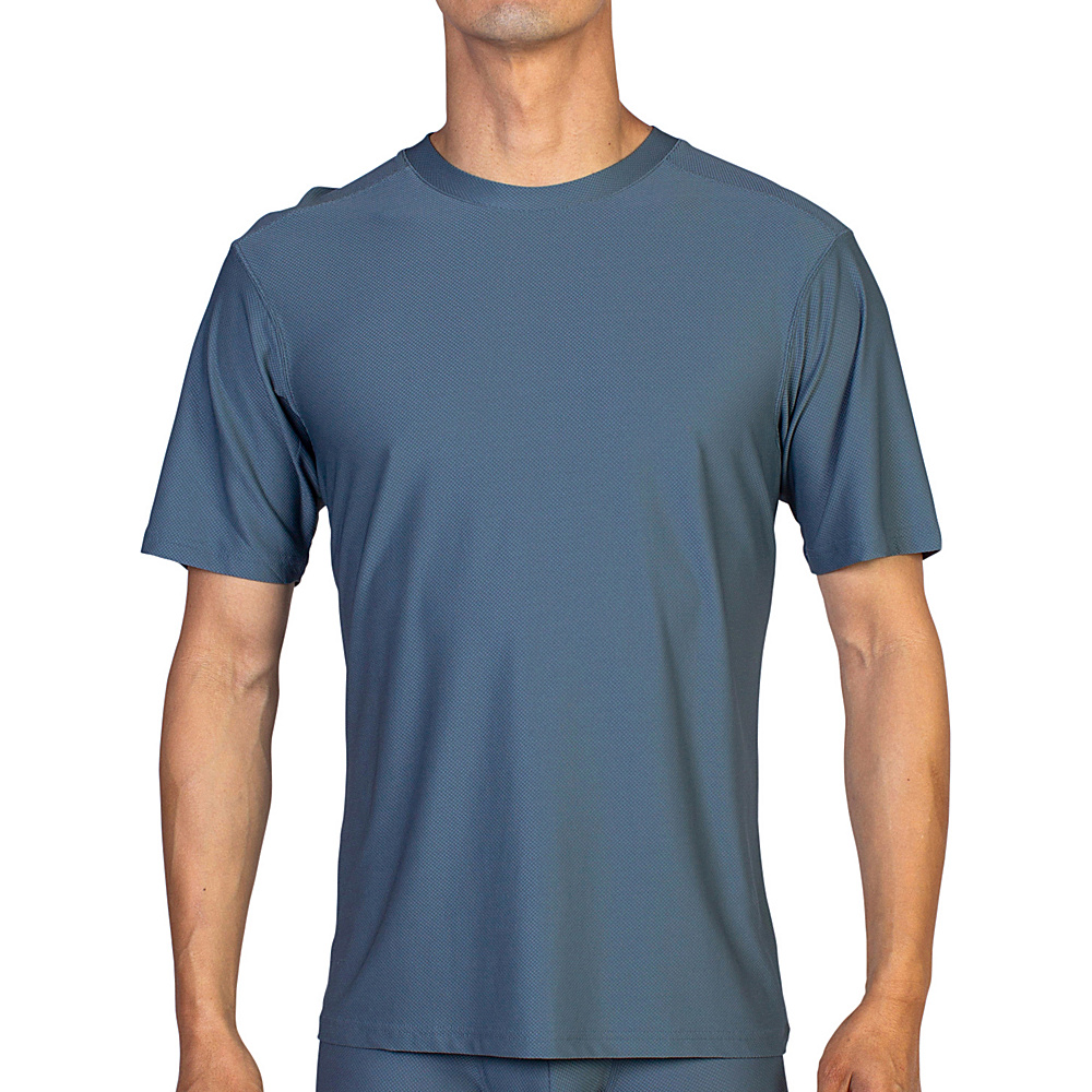 ExOfficio Give-N-Go Tee M - Charcoal - ExOfficio Mens Apparel - Apparel & Footwear, Men's Apparel