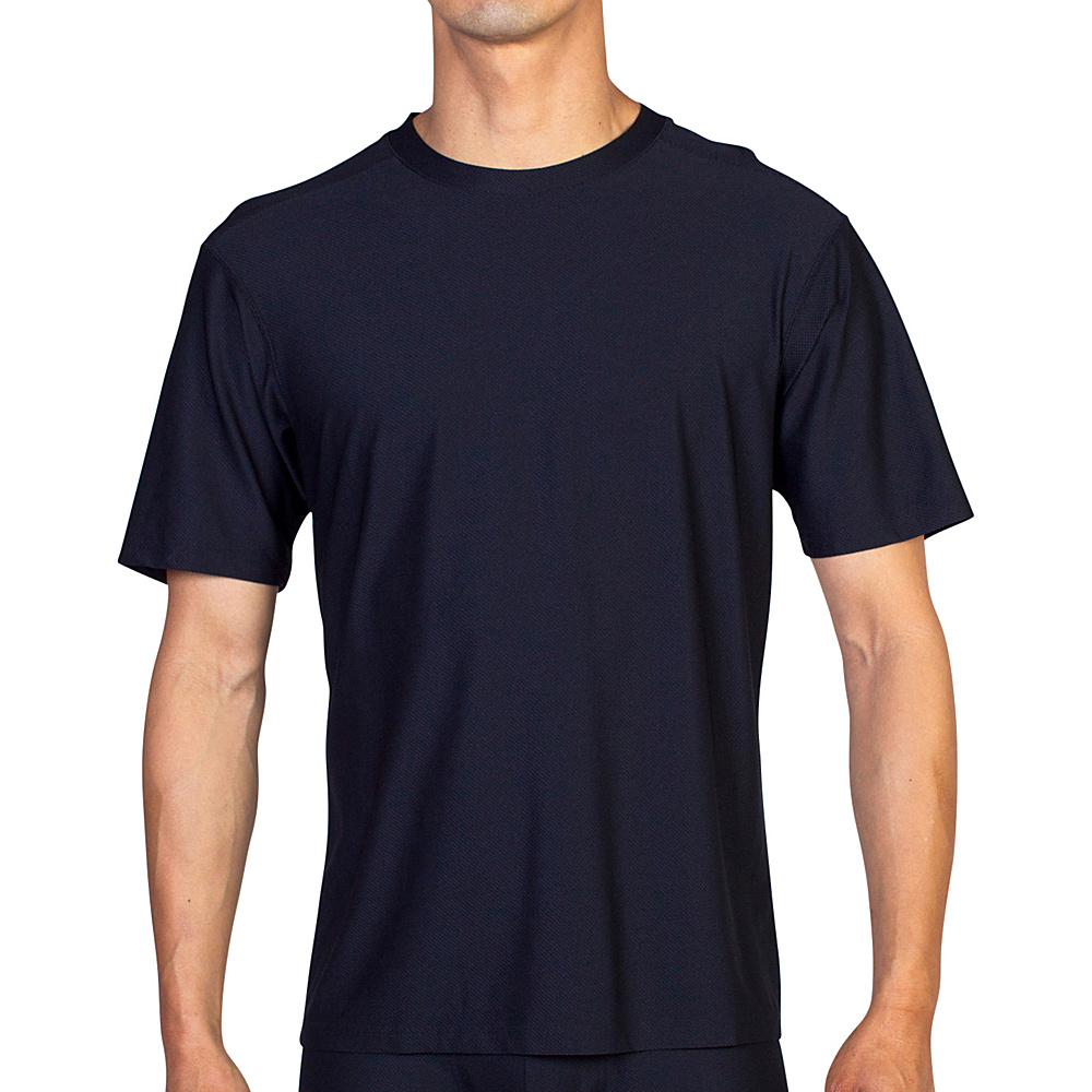 ExOfficio Give-N-Go Tee S - Black - ExOfficio Mens Apparel - Apparel & Footwear, Men's Apparel