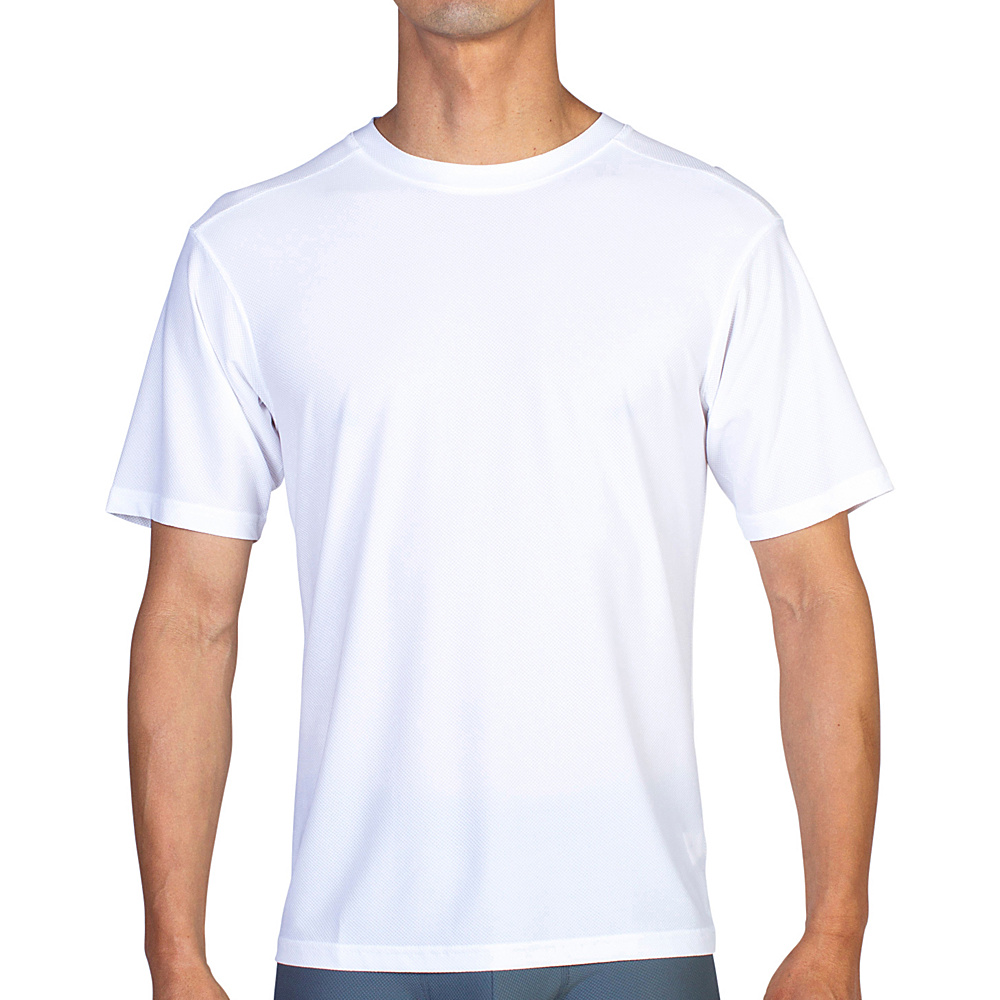 ExOfficio Give-N-Go Tee S - White - ExOfficio Mens Apparel - Apparel & Footwear, Men's Apparel