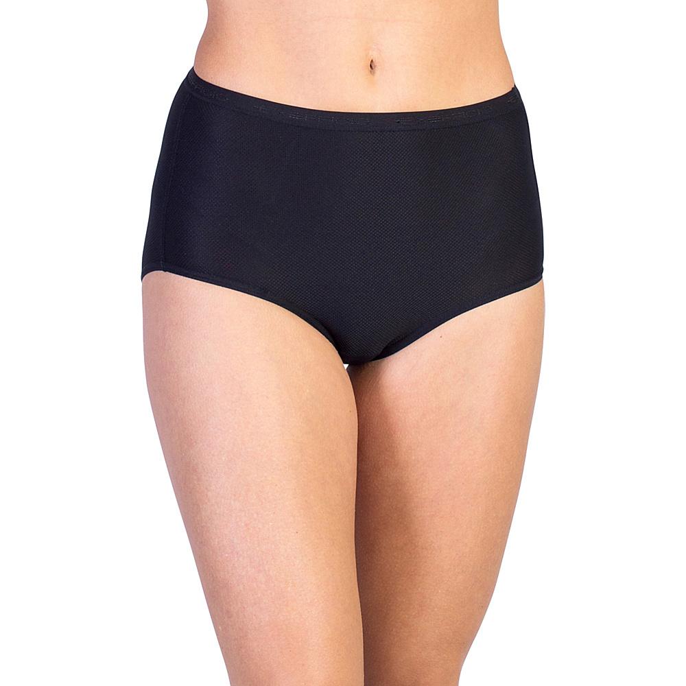 ExOfficio Give-N-Go Full Cut Brief L - Black - ExOfficio Womens Apparel - Apparel & Footwear, Women's Apparel