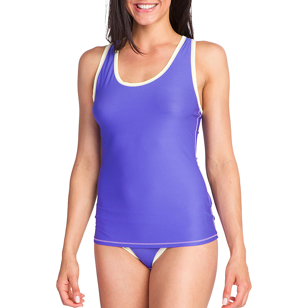 ExOfficio Give-N-Go Sport Mesh Tank M - Blue Iris - ExOfficio Womens Apparel - Apparel & Footwear, Women's Apparel
