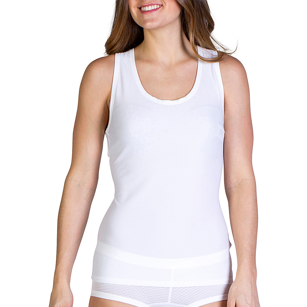 ExOfficio Give-N-Go Sport Mesh Tank M - White - ExOfficio Womens Apparel - Apparel & Footwear, Women's Apparel
