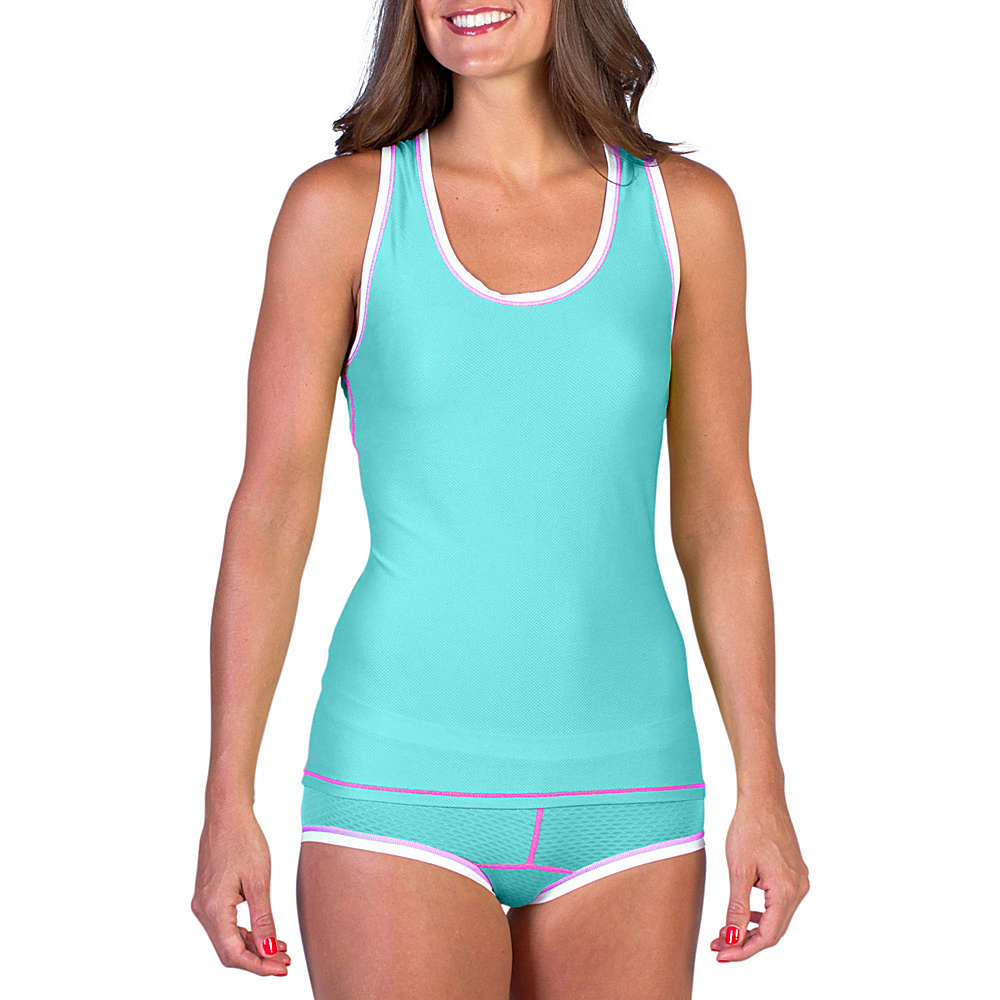 ExOfficio Give-N-Go Sport Mesh Tank Isla - Large - ExOfficio Womens Apparel - Apparel & Footwear, Women's Apparel
