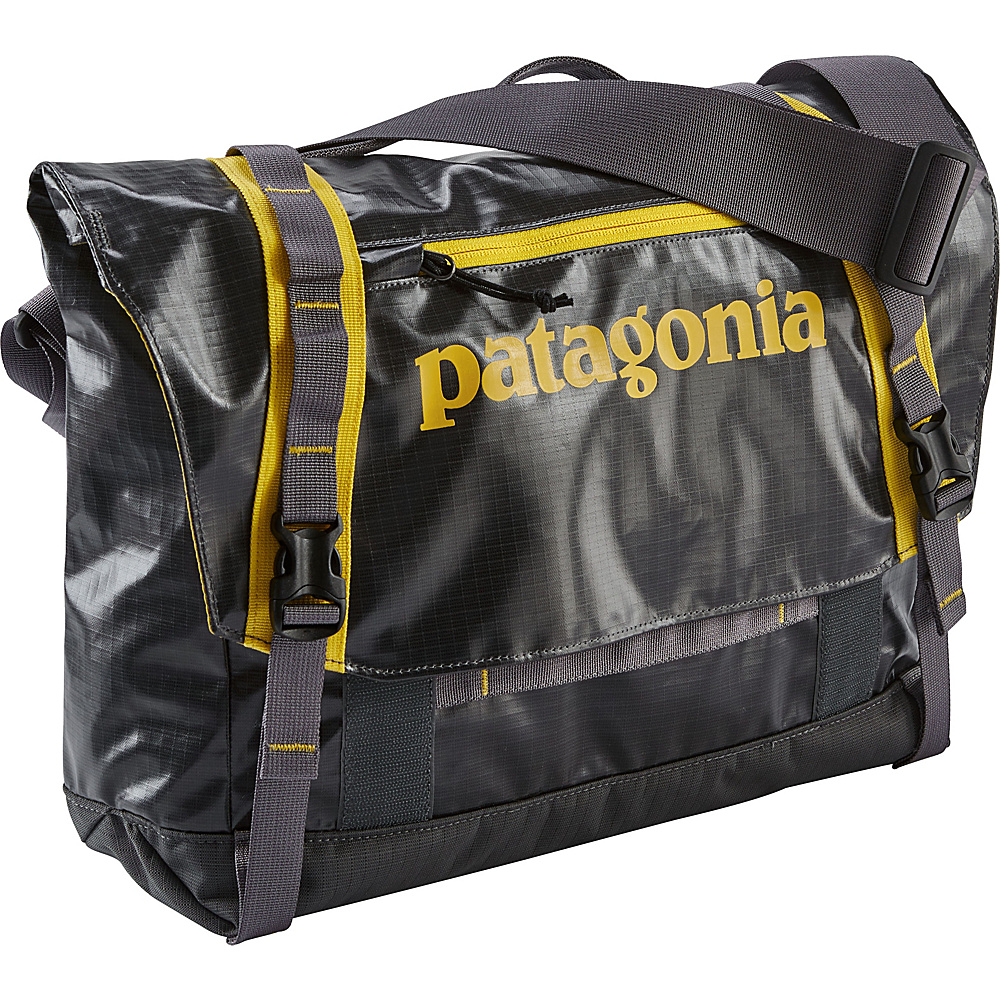 Patagonia Black Hole Mini Messenger 12L Forge Grey/Chromatic Yellow - Patagonia Messenger Bags - Work Bags & Briefcases, Messenger Bags