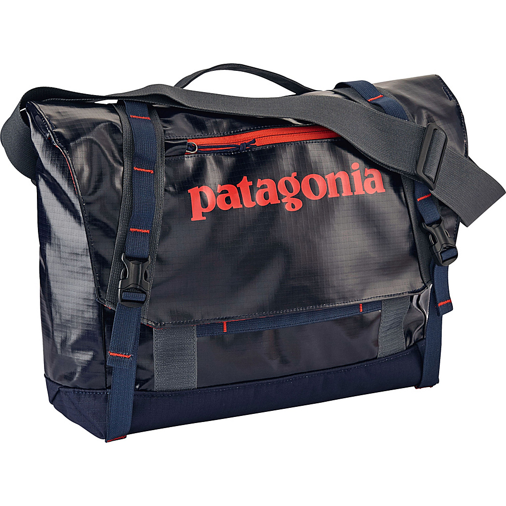 Patagonia Black Hole Mini Messenger 12L Navy Blue w/Paintbrush Red - Patagonia Messenger Bags - Work Bags & Briefcases, Messenger Bags