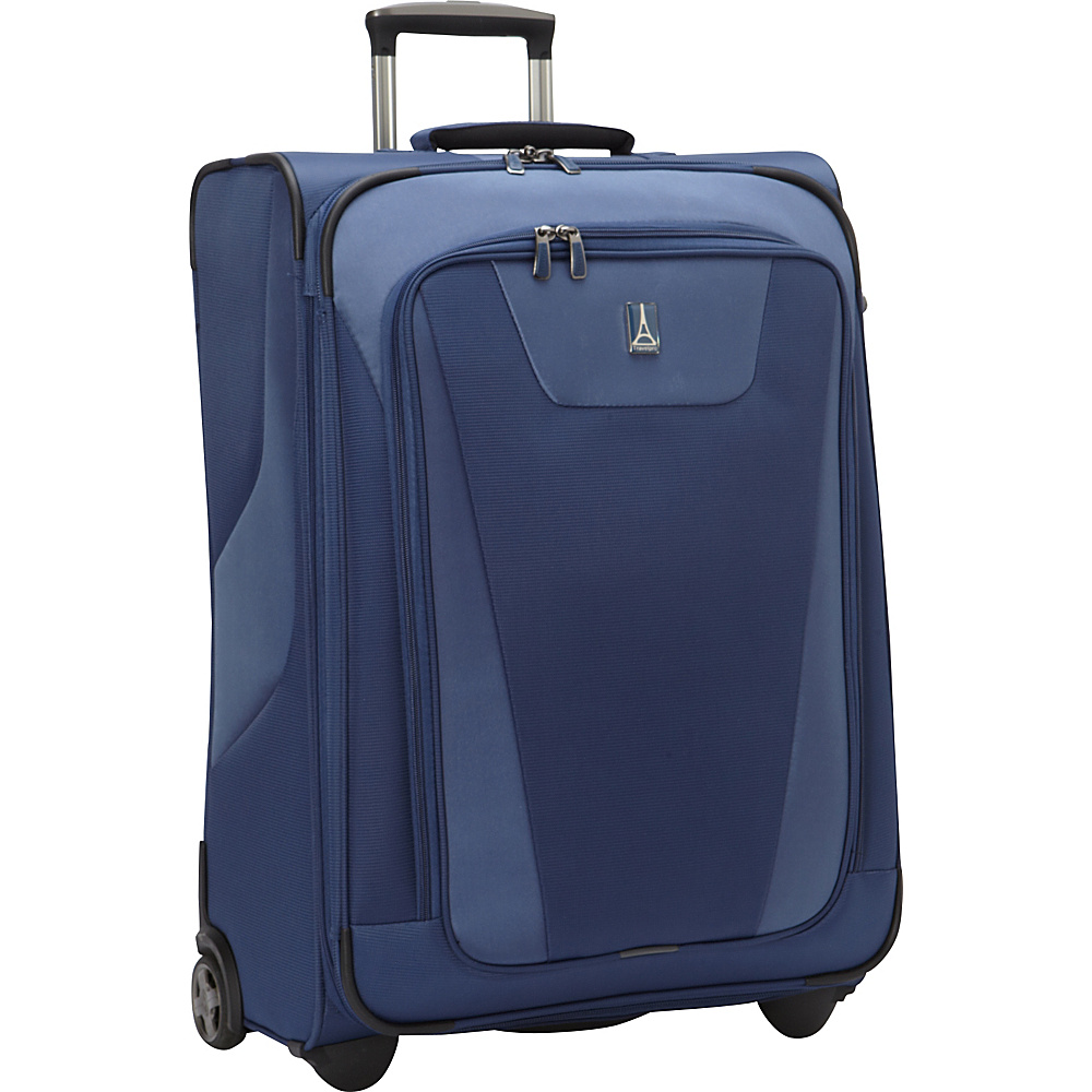 Travelpro Maxlite 4 26 Expandable Rollaboard Blue Travelpro Softside Checked