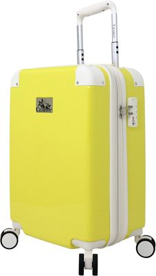 Chariot Ricco Carry-On Yellow - Chariot Softside Carry-On