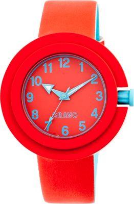 Crayo Equinox Ladies Watch Red - Crayo Watches