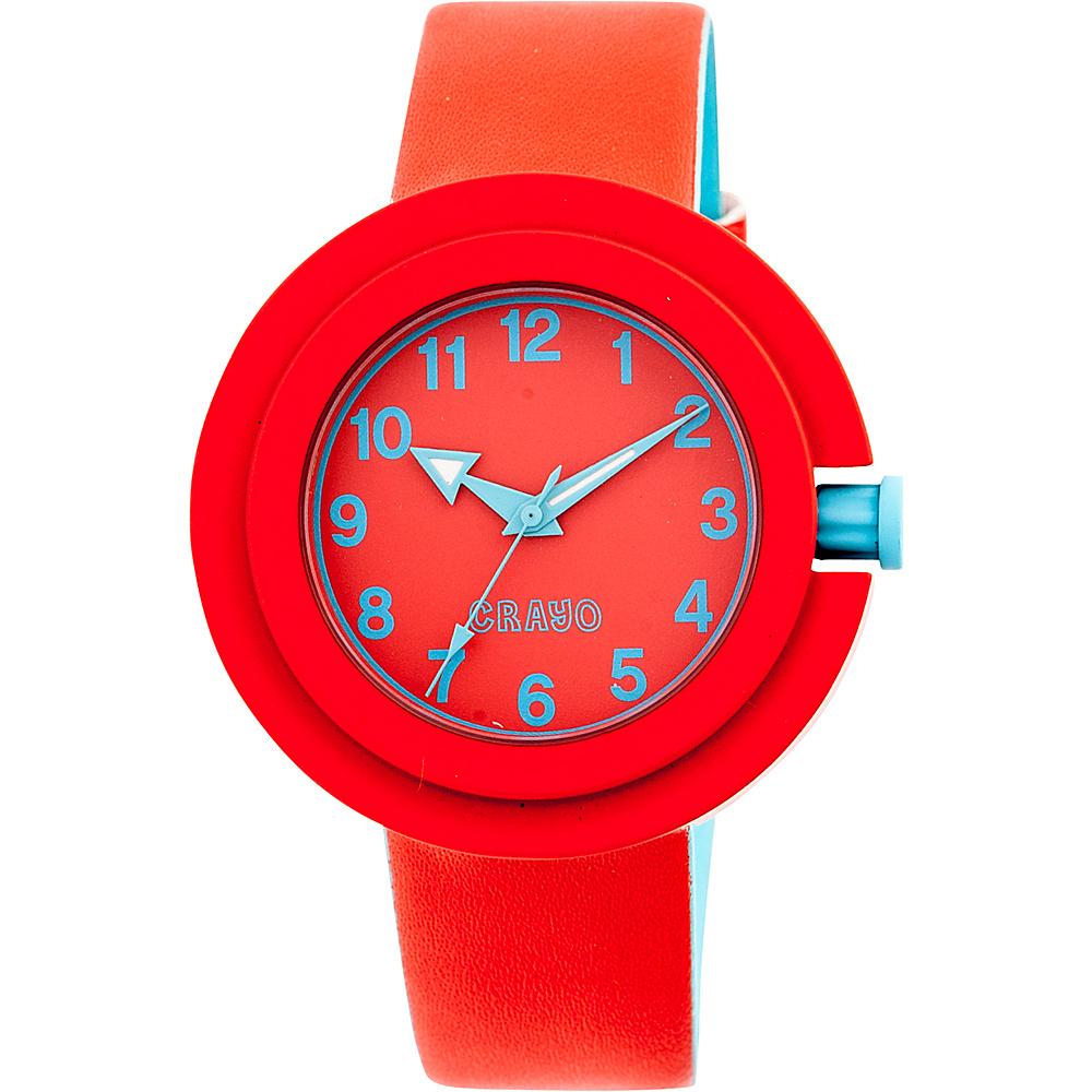Crayo Equinox Ladies Watch Red Crayo Watches