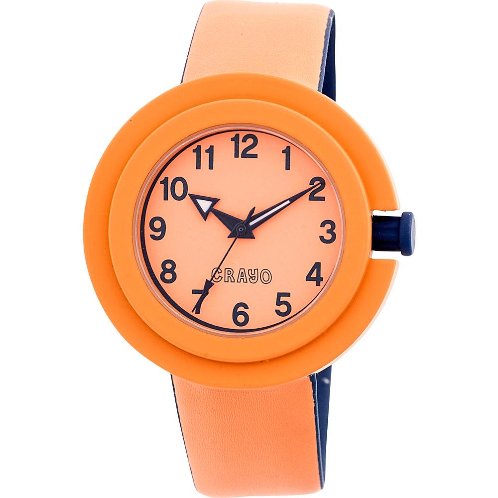Crayo Equinox Ladies Watch Orange Crayo Watches