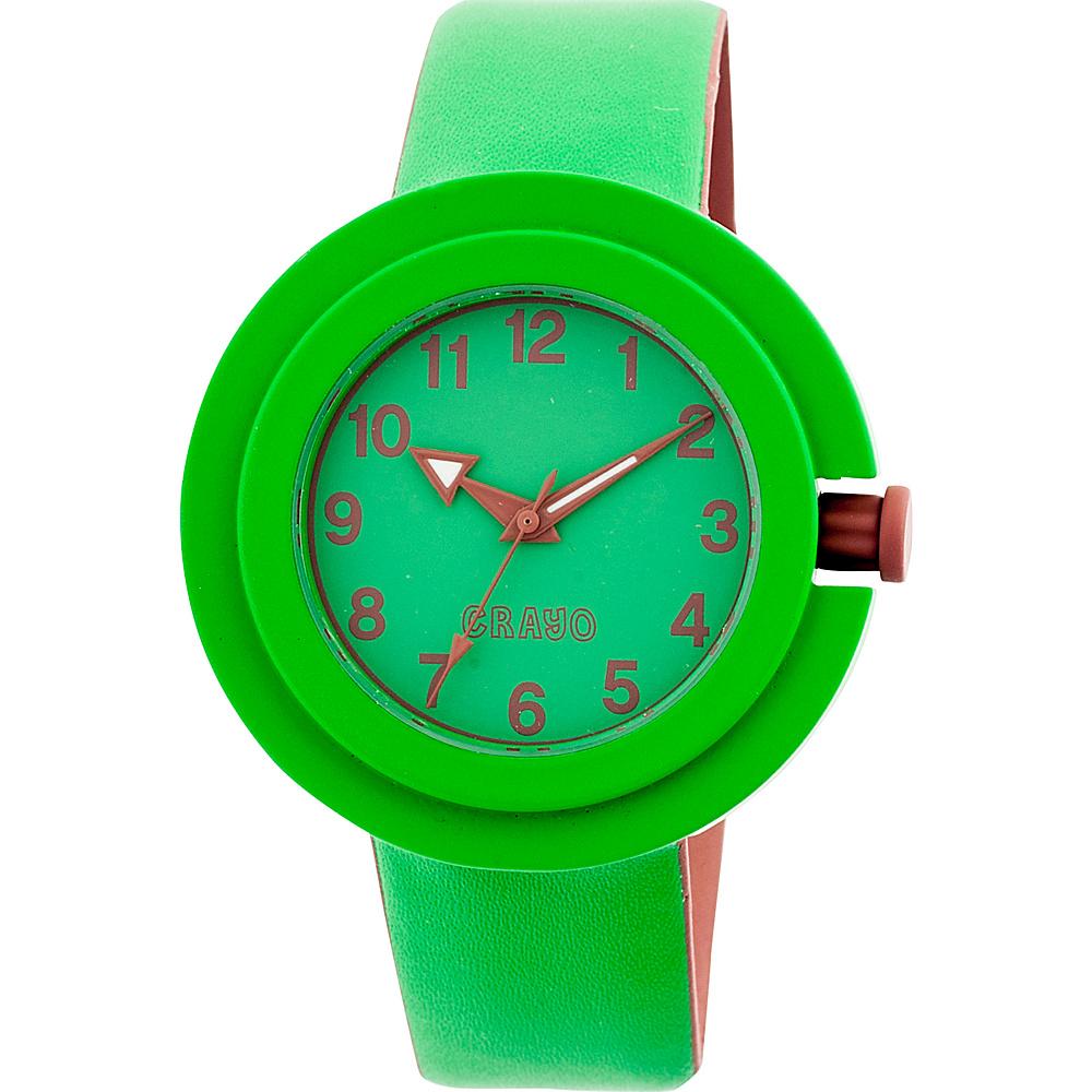 Crayo Equinox Ladies Watch Green Crayo Watches