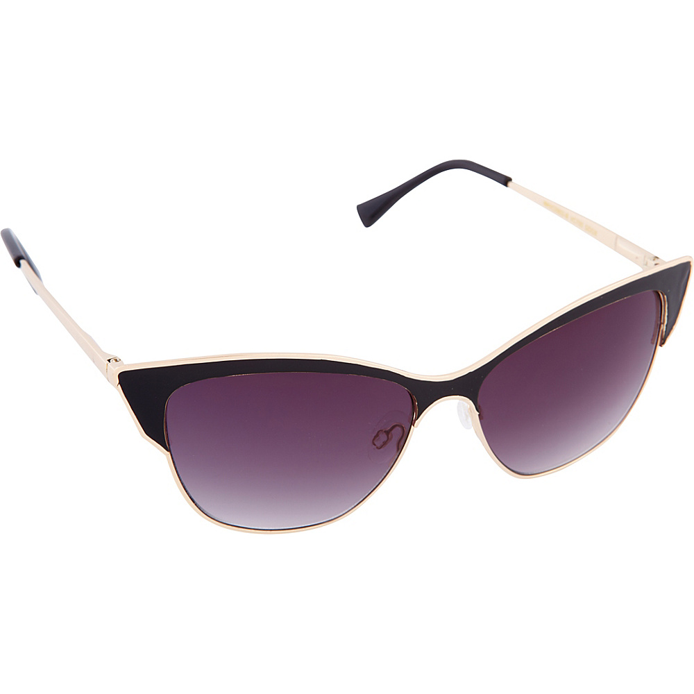 Vince Camuto Eyewear VC700 Sunglasses Gold Black Vince Camuto Eyewear Sunglasses