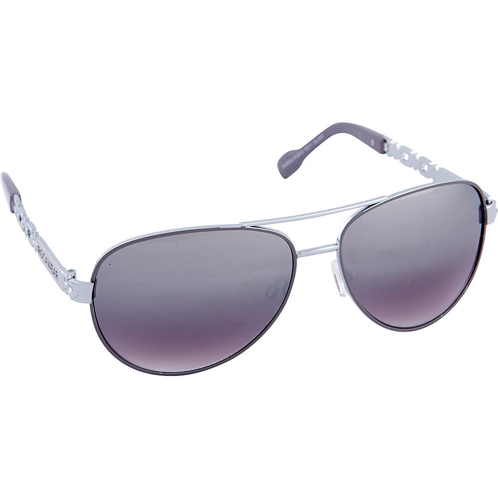 Rocawear Sunwear R571 Women s Sunglasses Silver Grey Rocawear Sunwear Sunglasses