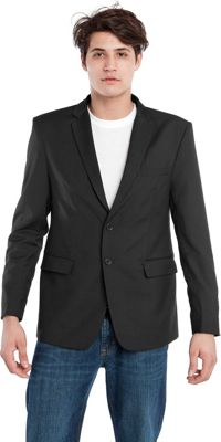 Image of BAUBAX BLAZER Black - Large Tall - BAUBAX Men's Apparel