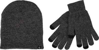 1Voice Touch Screen Gloves With Matching Beanie One Size - Grey - 1Voice Hats/Gloves/Scarves
