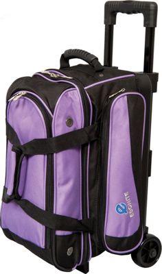Ebonite Transport II Ball Roller Purple - Ebonite Bowling Bags
