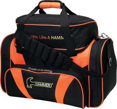Hammer Deluxe Double Tote Black/Orange - Hammer Bowling Bags