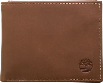 Timberland Wallets Hunter Passcase Wallet Brown - Timberland Wallets Men's Wallets