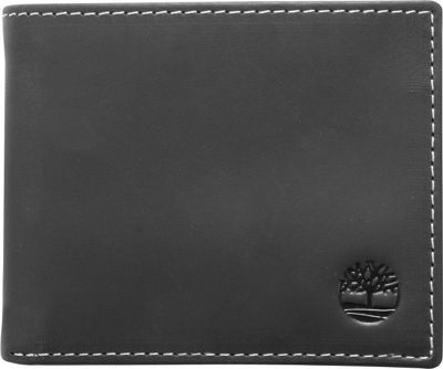 Timberland Wallets Hunter Passcase Wallet Black - Timberland Wallets Men's Wallets