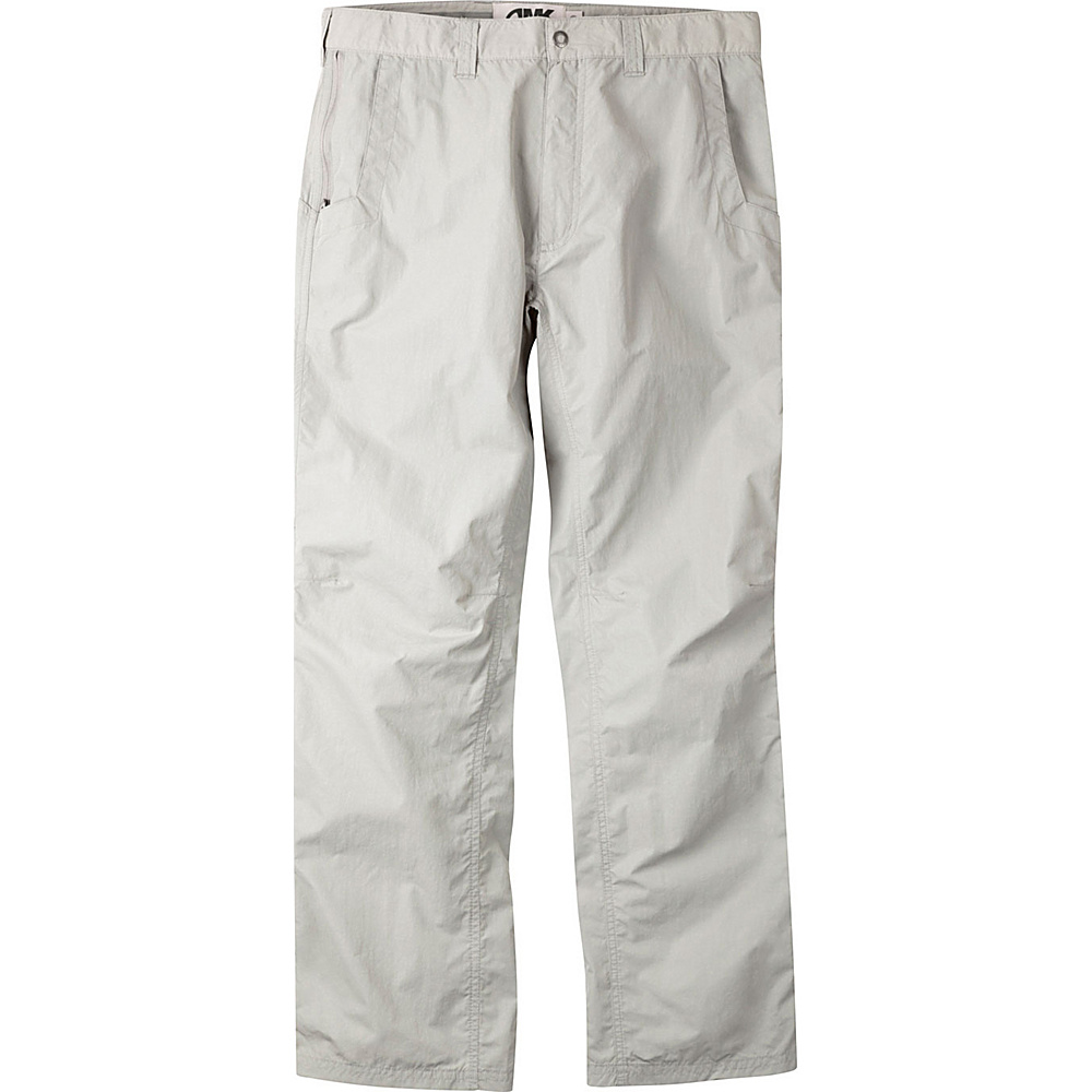 Mountain Khakis Equatorial Pants 36 - 34in - Stone - Mountain Khakis Mens Apparel - Apparel & Footwear, Men's Apparel