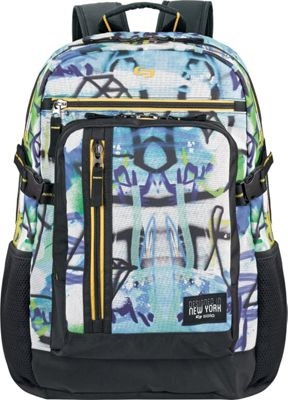 SOLO Brooklyn 15.6 inch Backpack Assorted colors - SOLO Business & Laptop Backpacks