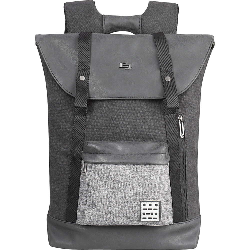 SOLO Urban Code 15.6 Backpack Black SOLO Business Laptop Backpacks