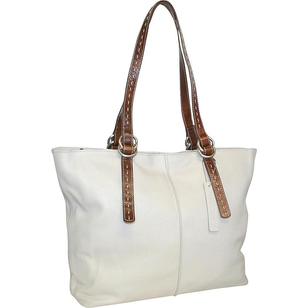 Nino Bossi Sherry Baby Tote Bone Nino Bossi Leather Handbags