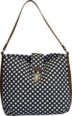 Sloane Ranger Shoulder Bag Gingham - Sloane Ranger Fabric Handbags