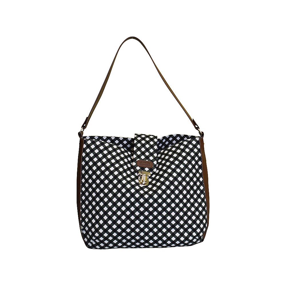 Sloane Ranger Shoulder Bag Gingham Sloane Ranger Fabric Handbags