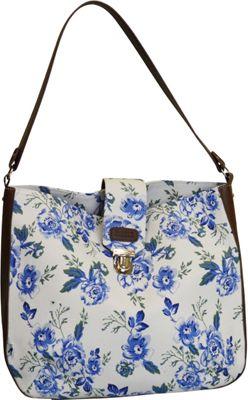Sloane Ranger Shoulder Bag Vintage Floral - Sloane Ranger Fabric Handbags