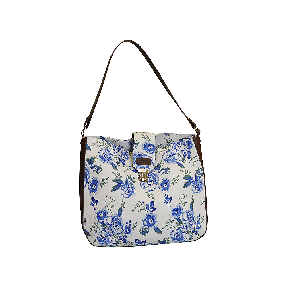 Sloane Ranger Shoulder Bag Vintage Floral Sloane Ranger Fabric Handbags
