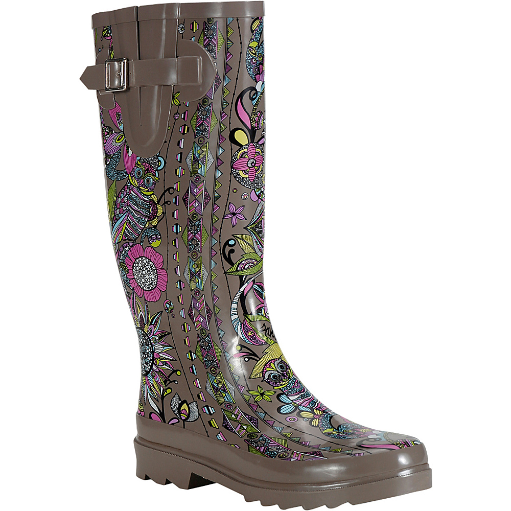 Sakroots Rhythm Rain Boot 7 M Regular Medium Sterling Spirit Desert Sakroots Women s Footwear