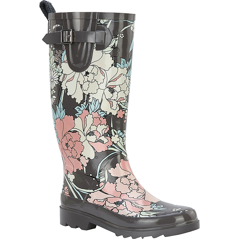 Sakroots Rhythm Rain Boot 10 M Regular Medium Sterling Spirit Desert Sakroots Women s Footwear