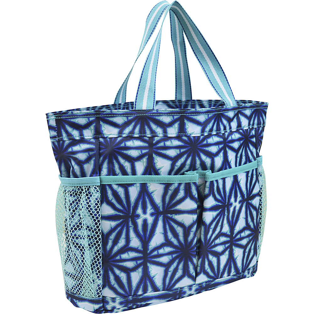 All For Color Caddy Indigo Batik All For Color All Purpose Totes